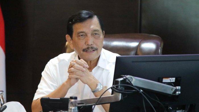 Saat Luhut 'Komporin' Gubernur BI Borong Produk Kerajinan Mutiara Lombok
